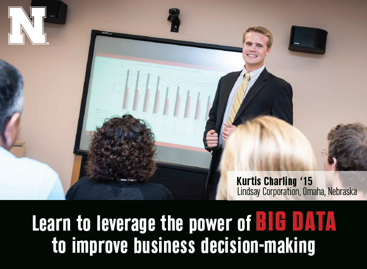 Business Analytics student Kurtis Charling '15 - Lindsay Corporation, Omaha, Nebraska