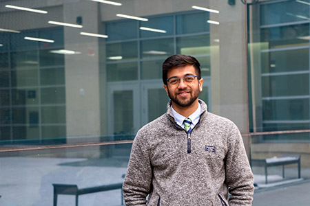 Born and raised in Chennai, India, Raghav Kidambi had never experienced a rural community until he spent this past summer completing a Rural Futures Institute serviceship with the Seward County Chamber and Development Partnership.