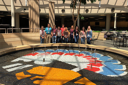 The students toured Mutual of Omaha and Deloitte in Omaha, Nebraska along with Kawasaki in Lincoln, Nebraska, during the summit.