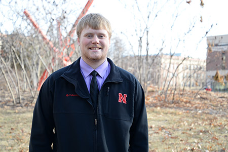 Dylan Bjerrum hopes to Start Something in the business world before someday going home to the family farm.