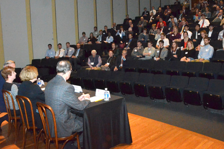 120 people attended the annual Executive Insights