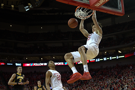 As a 220-pound sophomore, Roby averaged nine points, seven rebounds and two blocked shots per game, helping the Huskers to 22 wins.