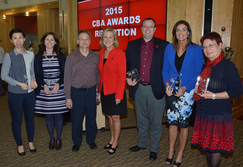 2015 Faculty and Staff Award Winners