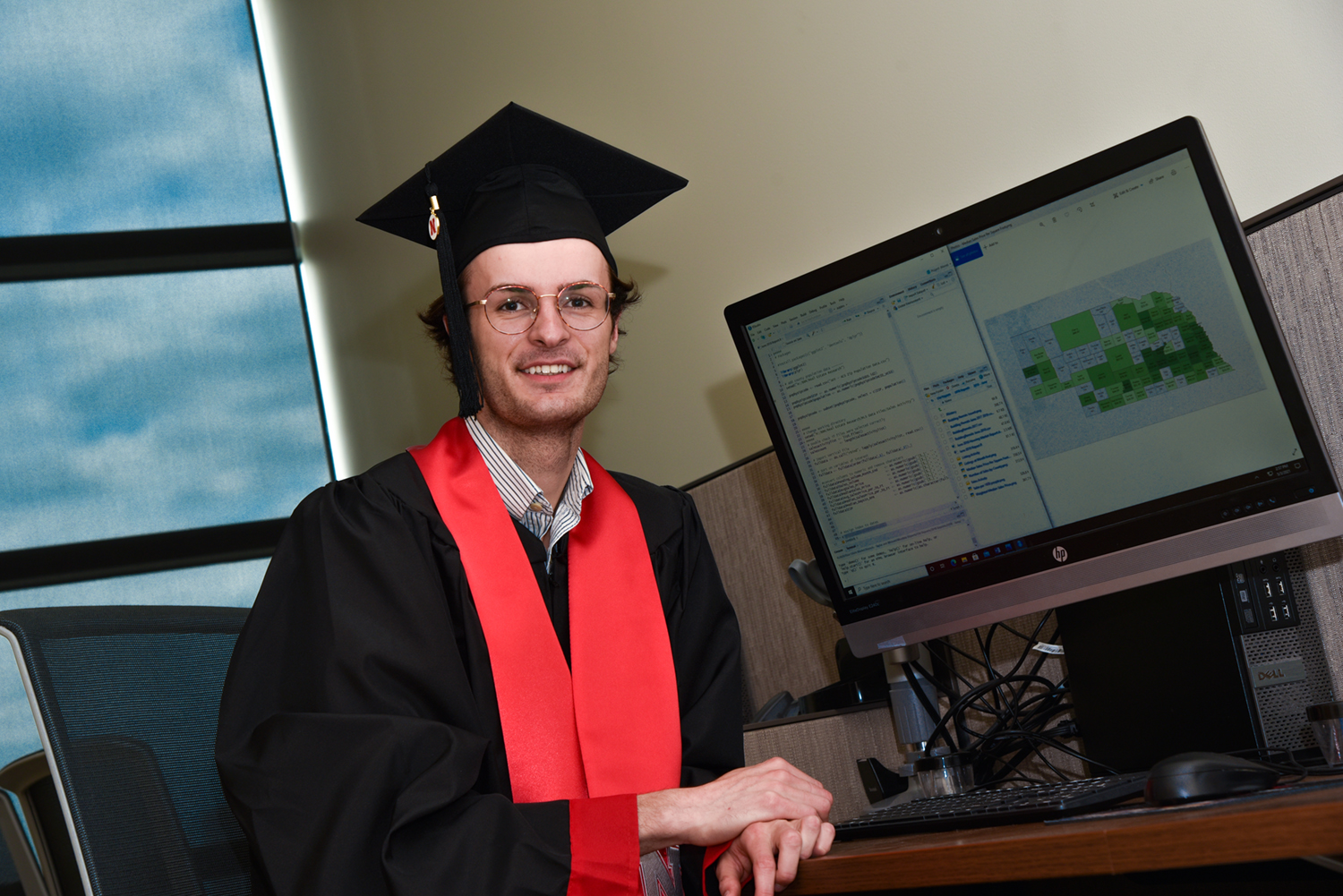 Schneider gained experience as a Bureau of Business Research Scholar for three years
