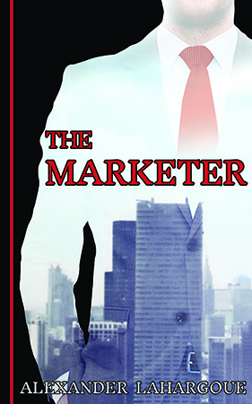 Advance cover shot of The Marketer