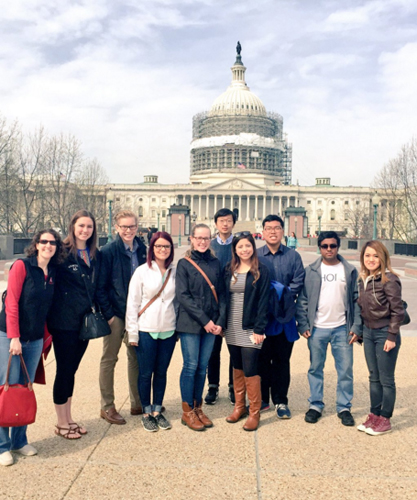 Touring the sites of Washington D.C.