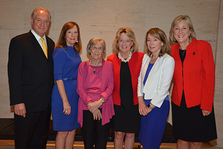 Clifton-Gallup Reception - Jim Clifton, Mary Reckmeyer, Shirley Clifton, Jane Miller, Connie Rath, Donde Plowman