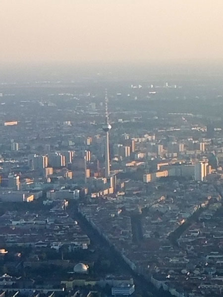 Berlin from the air.