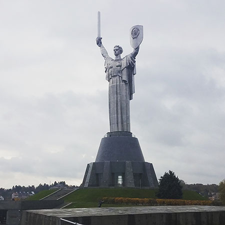The Motherland Monument Statue