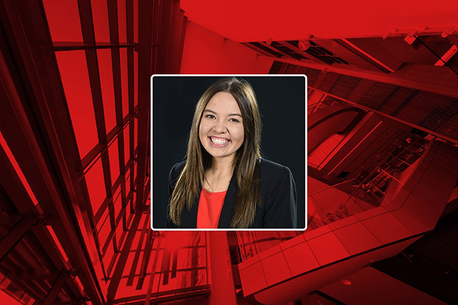 Haley Faust secured a second summer internship that positively impacts her hometown of Columbus, Nebraska, after COVID-19 cancelled her initial plans.