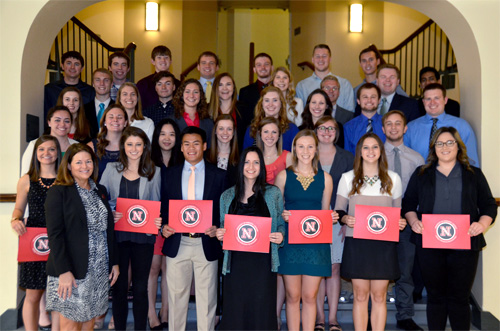 Honors recipients gather in CBA