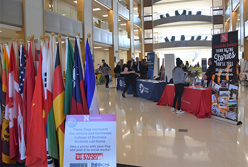 Global Opportunities Fair highlighted different options for globally-minded students.