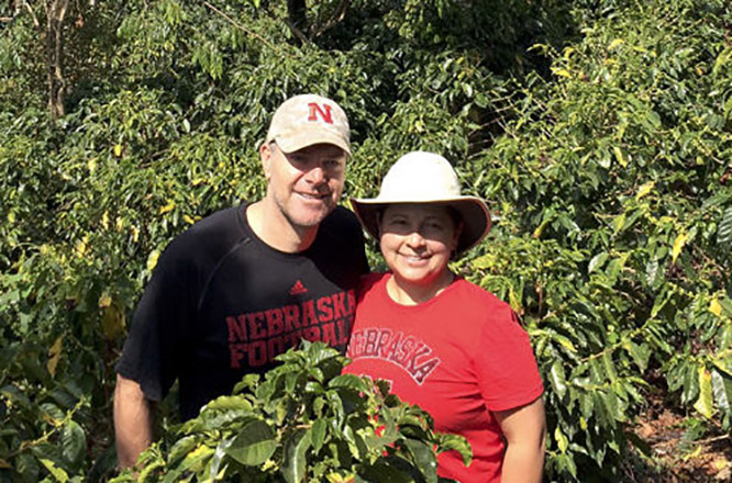 Marinella and Jonathan Jost grow their own coffee in Costa Rica and work with students to understand the complexities of the industry.