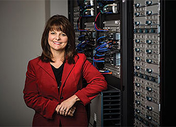 Whittaker encourages more women to consider jobs in IT.