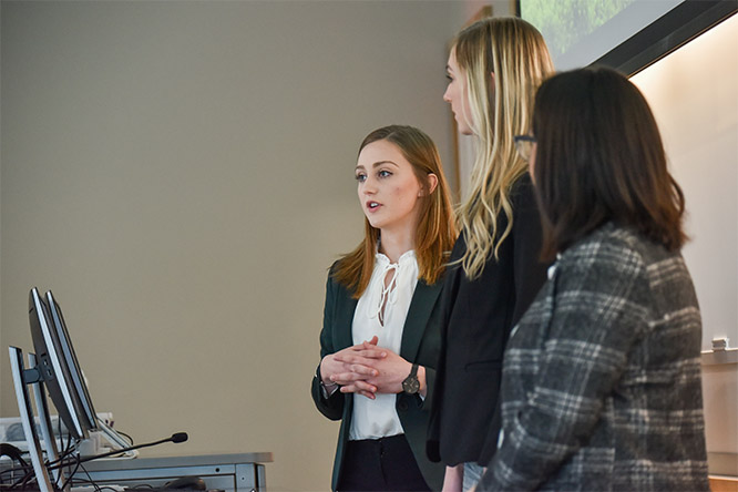 In her sophomore year, Kist quickly adapted to the Nebraska Business Honors Academy by getting involved with honors teammates for new venture competitions.