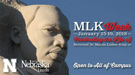 Nebraska presents a series of events honoring Dr. Martin Luther King Jr.