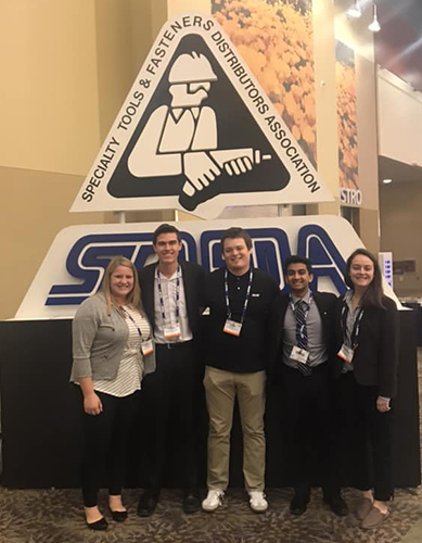 Five supply chain management majors were selected to present Nebraska at the Specialty Tools and Fasteners Distributors Association (STAFDA) conference in Phoenix.