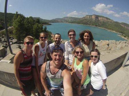 UNL students on trip to Spain