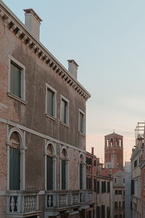 The architecture of Venice.