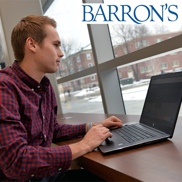 Barron's Provided to Business Students