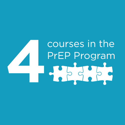 4 Courses in the Prep Program