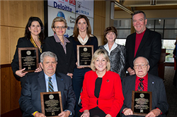 UNL College of Business Administration Advisory Board Recognizes Top Business Leaders
