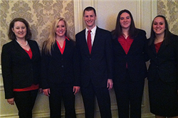 Beta Alpha Psi Students Compete in Best Practice Competition and Advance to Nationals