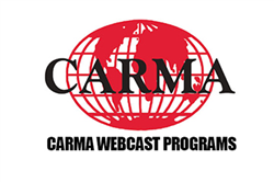 CARMA Webcasts Resume for Fall