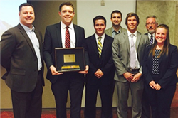 Business Students Win Union Pacific Case Competition