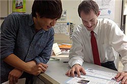 Senshu Study Abroad Program Alum Realizes Dream of Working in Japan