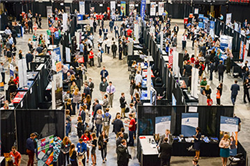 Business and Liberal Arts Career Fair Welcomes Nearly 900 Students
