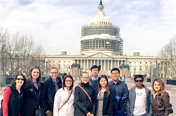 Students Explore Professional Opportunities in Washington D.C.