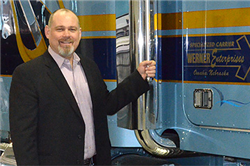 Chip Duden of Werner Enterprises Sees Success in Supply Chain for CBA Students