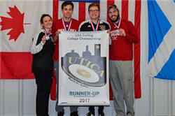 Curling Team, Actuarial Science Student Place Second at Nationals