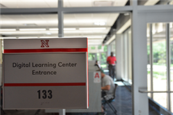 Finance Students Among First to Use New Digital Learning Center