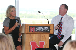 Plowman, Eichorst Presentation Scores High Praise at Big Ten Development Conference