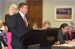 CBA Senior Eric Reznicek Represents Students on the Nebraska Board of Regents