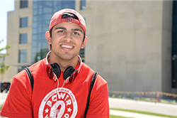 "Fernando Embodies ""Big Red"" Spirit in Business and Journalism"