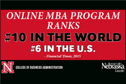 Financial Times Ranks Online MBA Program No. 10 in the World