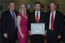 Hartline Recognized by Regents with University of Nebraska Kudos Award
