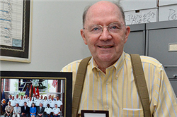 Hayden Marks 50 Years of Service at College of Business