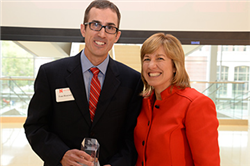 Heacock Receives Young Alumni Award