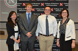 Undergraduate Business Students Honored for Academic Achievement
