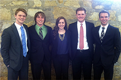 CBA Honors Academy Team Excels at Leadership Challenge