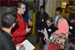Internship at Lincoln Industries Builds on CBA Classroom Experience