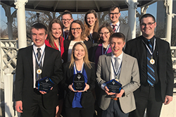Honors Academy Students Compete at Leadership Challenge Event