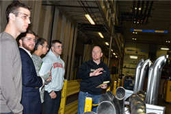 Marketing Students Learn Science of Research with Lincoln Industries