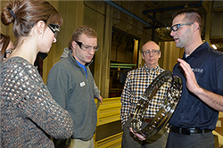 CBA Students Develop Marketing Strategies for Lincoln Industries