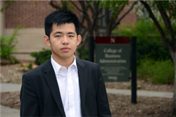 Michael Shang Inspired to Create Startup Company Through UNL MBA Experience