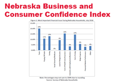 Business and Consumer Confidence Moderate in Nebraska